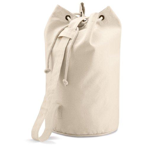 Quadra Sac seau en coton avec bandoulière résistante Beige