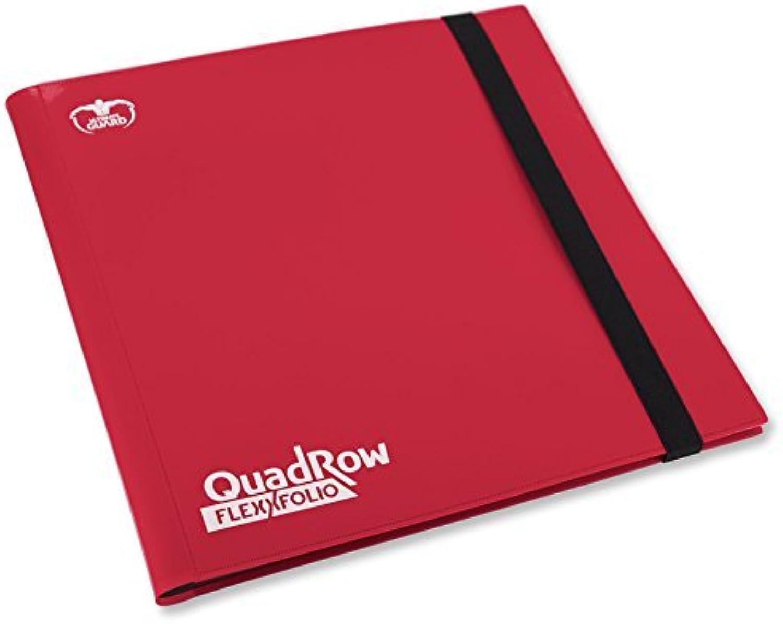 Ultimate Guard UGD10345  12Pocket QuadRow FlexXfolio, Card Game, Red by Ultimate Guard
