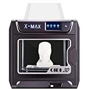 R QIDI TECHNOLOGY Large Size Intelligent Industrial Grade 3D Printer New Model:X-max,5 Inch Touchscreen,WiFi Function,High Precision Printing with ABS,PLA,TPU,Flexible Filament,300x250x300mm