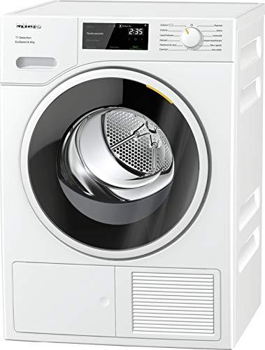 Miele TSF 643 WP ECOSPEED, Asciugatrice Libera Installazione, A+++, Pompa di Calore, Carico Frontale, 8 kg, Oblò Nero