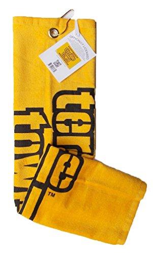 Tromic USA NFL Steelers Yellow Terrible Towel 25' x 15' Golf Towel 100% Cotton Gift