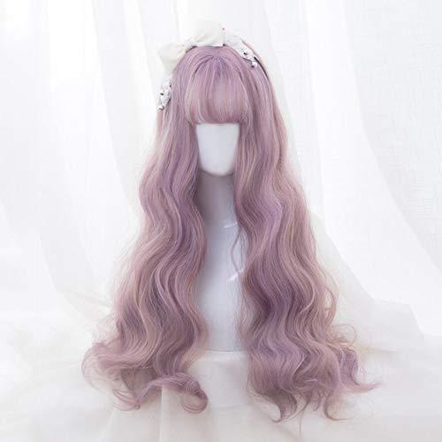 Lace Front Wigs Synthetique,25.6in,Pour Un Usage Quotidien/Cosplay,Perruque Synthétique Résistant à la Chaleur ondulées,Style Naturel