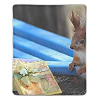 マウスパッド 防水 耐久性が良い 滑り止めゴム底 滑りやすい表面 マウスの精密度を上がる リスプレゼントボックスボウナットベンチ