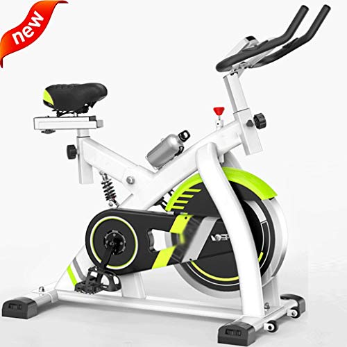 Best Price Exercise Cycling Bike, Indoor Fitness Bike Adjustable Cardio Exercise Bike with Display f...