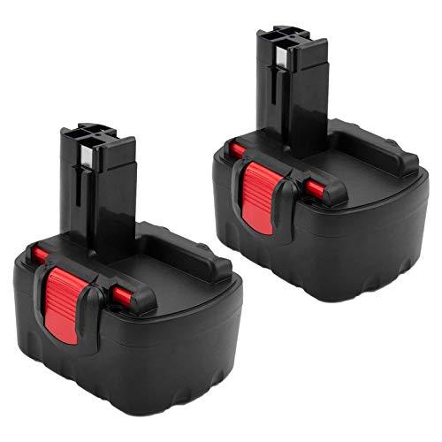 2 X Topbatt Ni-MH de Repuesto para bosch Batería 14,4 V 3,6 Ah BAT038 BAT040 BAT041 BAT140 BAT159 2607335533 2607335264 2607335276 PSR 14,4 GSR 14,4 VE-2 GSR 14,4 VPE-2
