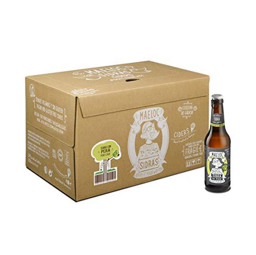 Maeloc Sidra con Pera - 24 botellas x 330 ml
