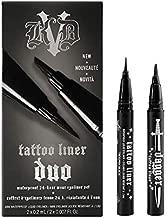 KAT VON D Tattoo Liner Duo: 0.2 mL Tattoo Liner in Trooper Black & 0.2 mL Dagger Tattoo Liner in Trooper Black