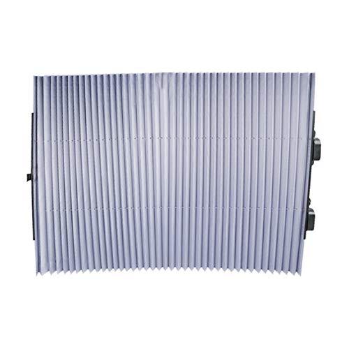 Película de Aluminio Parasol retráctil automático Protector Solar Delantero Visera Solar para vehículo Parabrisas Sombrilla de Verano para Coche