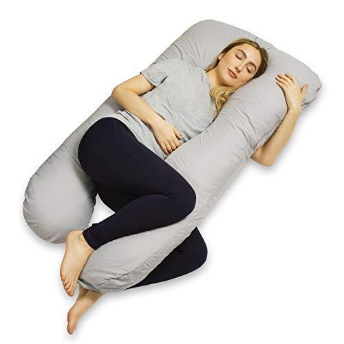 VOLL GETESTET Schwangerschaftskissen, Stillkissen, Pregnancy pillow, U-förmiges Kissen