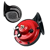 JENABOM 2 Packs Auto Car Vehicle Loud 12V 300 db Horn,Lightweight Waterproof Raging Sound Raging Sound for Car/Truck/Motorcycle