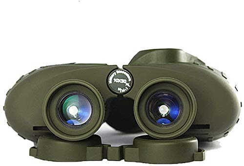 Binoculares Potente Militar Ruso 7x50 / 10x50 Telescopio de mar Telescopio Digital Level de Baja luz Visión Nocturna Vidrio Remoto para observación de Aves Soportes de Caza Observación Salvaje,7x50
