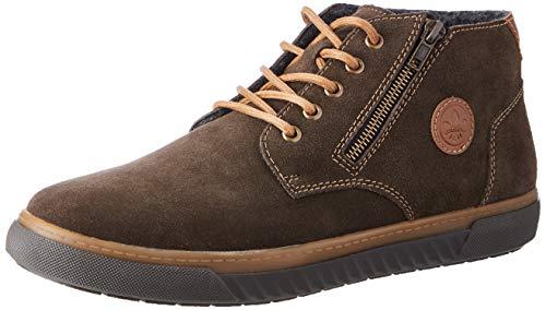 Rieker Herren 37931 Mode-Stiefel, braun, 44 EU
