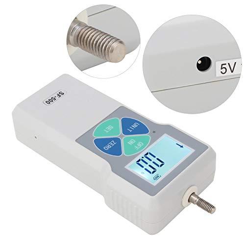 Digitales Kraftmessgerät Push Pull Tester, Einheiten Lb , Kg g N (Bereich 500N)(EU)