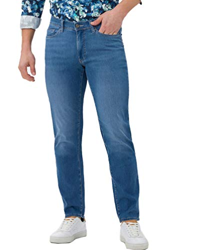 BRAX Herren Style Cadiz Ultralight Blue Planet: Nachhaltige Five-Pocket Jeans, Blau (Ocean Water), 40W / 32L