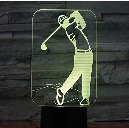 Regalo de navidad 3D luz nocturna música auriculares lámpara de escritorio led 7 colores control remoto decoración de dormitorio de niño regalos para niños