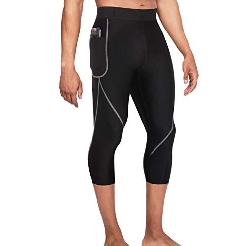 Gotoly Men Neoprene Workout Pants for Weight Loss Legging Hot Thermo Sauna...