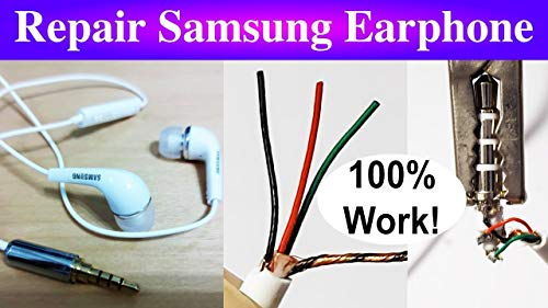 How to Repair Samsung Android Earphone (English Edition)