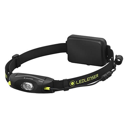 Led Lenser NEO6R Linterna frontal LED con cabeza orientable, correa de pecho...