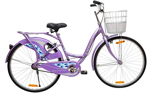 BSA Lady Bird Shine Bike (New Version) (Purple/ Silver)