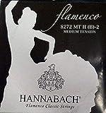 Hannabach Cordes pour guitare classique série 827 Medium Tension Flamenco Classic - H/B2 -corde unique