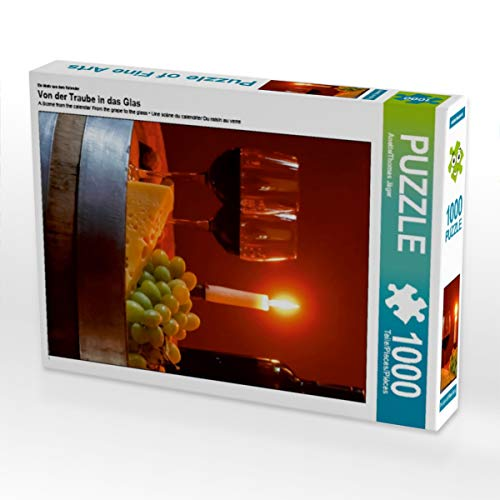 CALVENDO Puzzle Von der Traube in das Glas 1000 Teile Lege-Größe 48 x 64 cm Foto-Puzzle Bild von Anette Jäger
