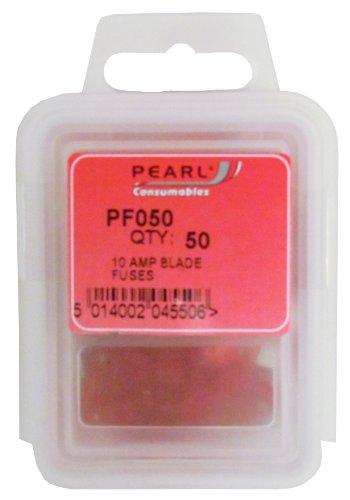 Pearl pf05010A fusibles de Cuchilla (50Unidades)