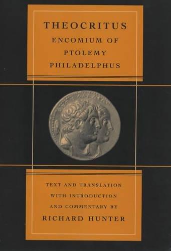 Encomium of Ptolemy Philadelphus (Volume 39)