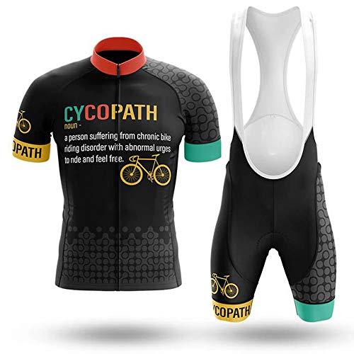Ropa Ciclismo Hombre Verano Trajes de Ciclismo Equipacion Bicicleta Maillot MTB+ Culote...