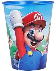 STOR Tumbler Easy mały kubek 260 ml Super Mario, czarny, średni