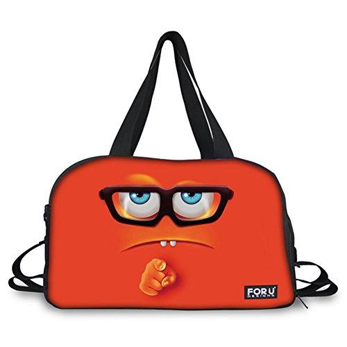 Design Campus Estuche ovalado con 3 bolsillos y cremallera Premier Stationery C5616270 Emoji s No Pain