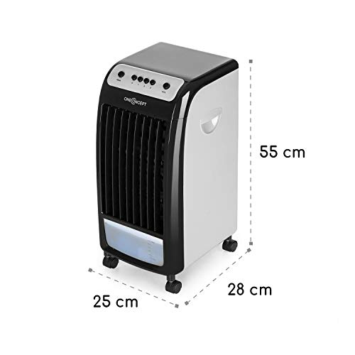 OneConcept Carribean Blue Air Cooler inkl. 2x Eisboxen Erfahrungen & Preisvergleich