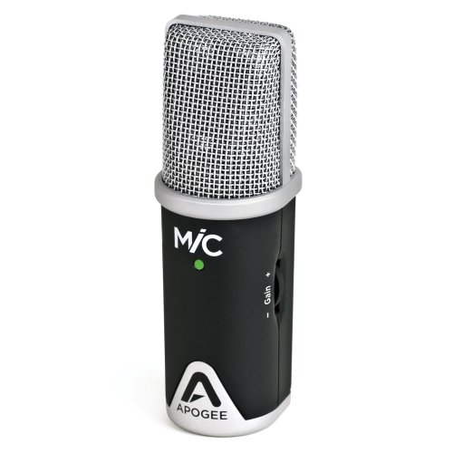 Apogee MiC 96k Professional Quality Microphone for iPad, iPhone, and Mac