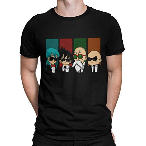 Camisetas La Colmena - 2239-Reservoir Kame -Dragon Ball - Reservoir Dogs (Melonseta) XXL