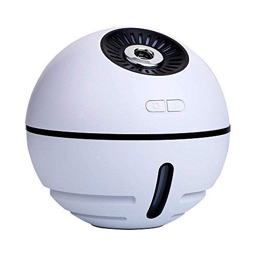 Raumball Luftbefeuchter, Ultraschall USB Portable Luftbefeuchter Luftreiniger für Autos Büro Schreibtisch Home Babys Kinder Schlafzimmer (White)