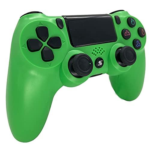 Wireless Controller, USB Controller Für PC PS4 Slim/ps4 Pro, Bluetooth Remote Joypad Gamepad, Turbo Funktion Dual Vibration 6 Achsen Somatosensory Switch Controller Gamepad