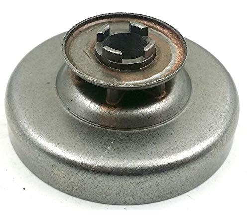 Opengardenweb 'Motorsäge SHINDAIWA 350Kupplungsglocke Ritzel der Kettensäge Clutch drum| 3/87Zähne mit Ring Auto allineante|compatibile mit Klone von anderen produttori|resistenza Qualität