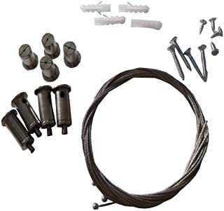 Mauk 1705 - Juego de montaje para calefactor de infrarrojos para pared