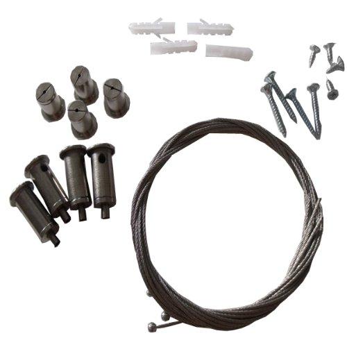 Mauk 1705 - Juego de montaje para calefactor de infrarrojos