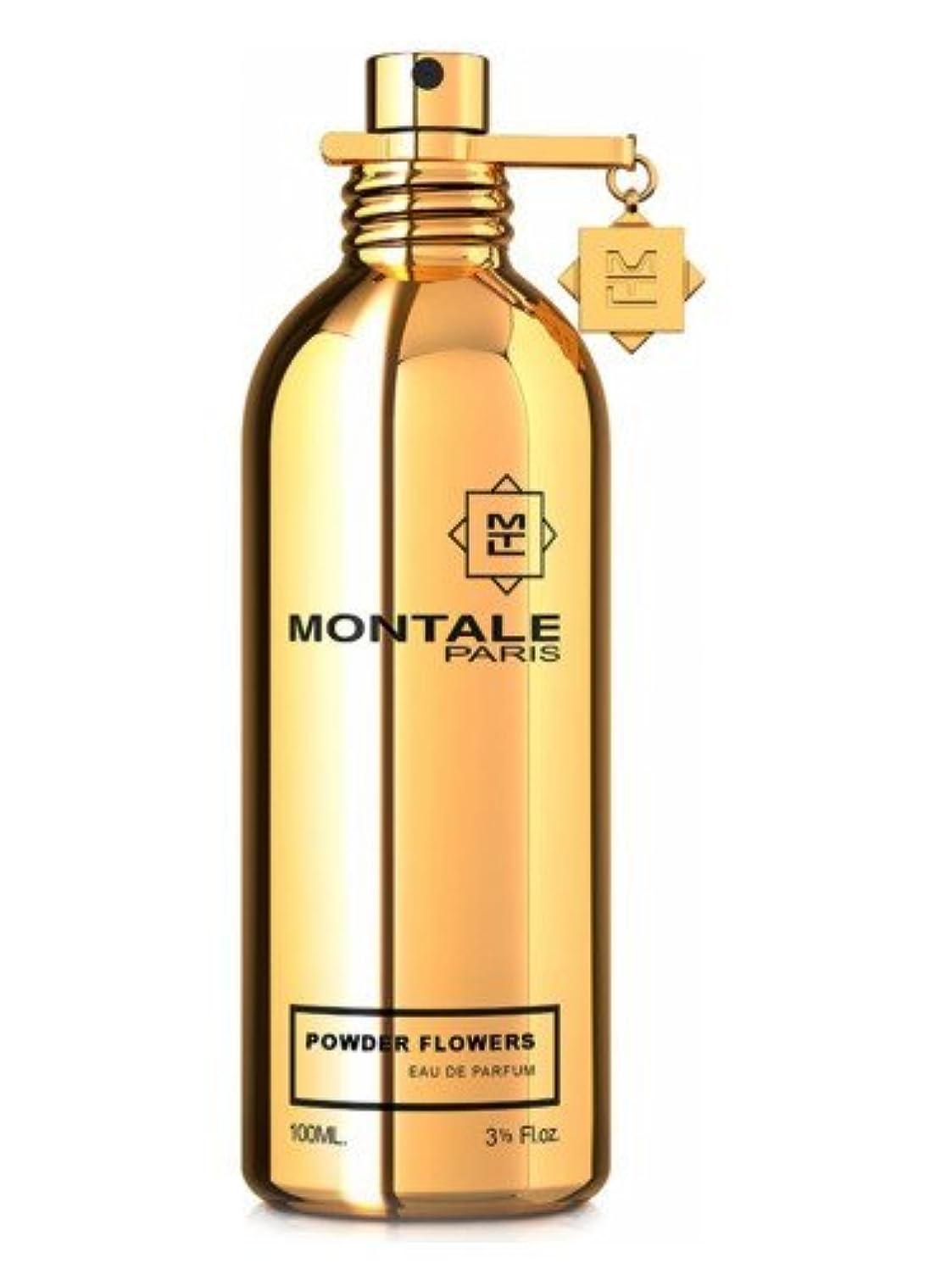 分数ゴミグリットMONTALE POWDER FLOWERS Eau de Perfume 100ml Made in France 100% 本物のモンターレ粉花香水 100 ml フランス製 +2サンプル無料! + 30 mlスキンケア無料!