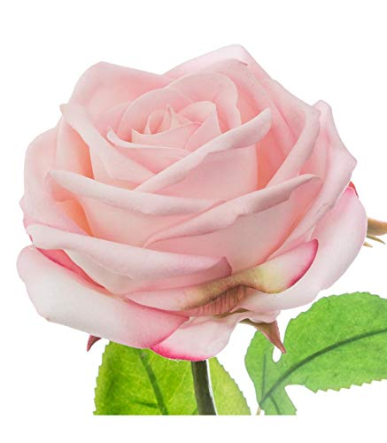 Atmosphera - Rose au Toucher réel H 66 cm