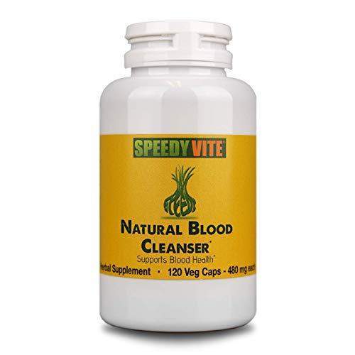 Natural Blood Cleanser Capsules Organic Supplement SpeedyVite® (120 Vegetable Powder Capsules)