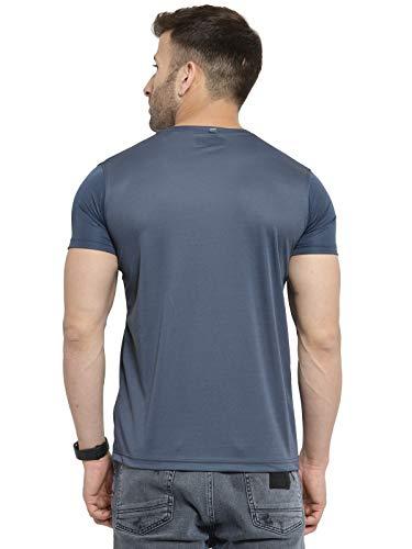 AWG - All Weather Gear Men's Solid Regular fit T-Shirt (Pack of 3) (AWGDFT-BL-SBU-DGR-M_Multicolour Medium)