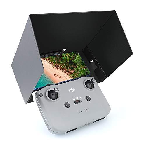 Linghuang Campana Solar Sun Hood Plegable para Teléfono Móvil para dji Mavic Air 2 Visor Solar para Drone Plegable Accesorios de Sombreado de Control Remoto