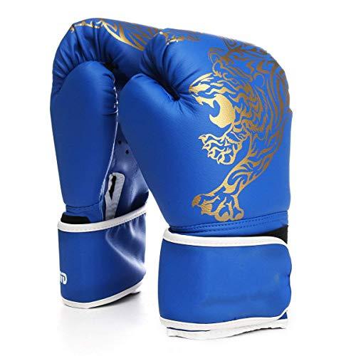 Zjcpow Boxhandschuhe aus PU-Leder für...