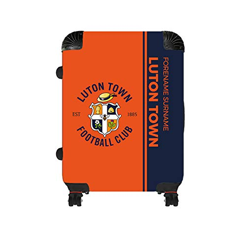 Official Personalised Luton Town FC Crest Medium Suitcase