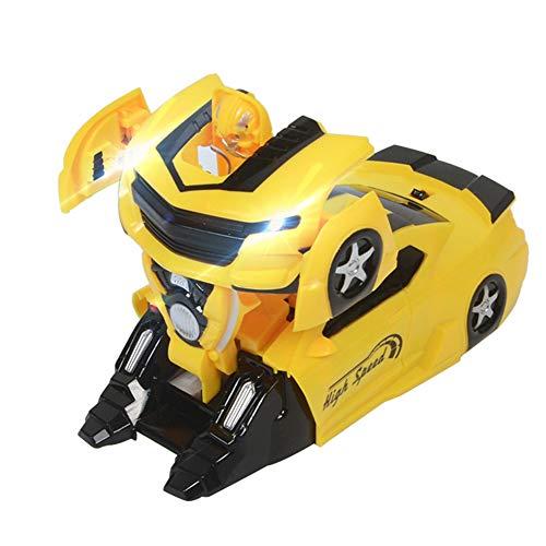 W-star Ferngesteuertes Auto Doppelmodi 360 ° Rotation Stunt Auto Kletterwand Funktion Kinder Spielzeug Transform Roboter Junge Mädchen Fahrzeuge Spiele Indoor Geschenke Spiel,B