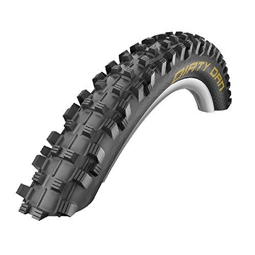 Schwalbe Reifen Dirty Dan DH HS417, Schwarz, 27.5 x 2 Zoll, 1402784401
