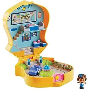Mattel Disney Toy Story 4 Cofre Estacion de Policia Giggle Mcdimple, Juguetes Niños +3 Años (GGX49)