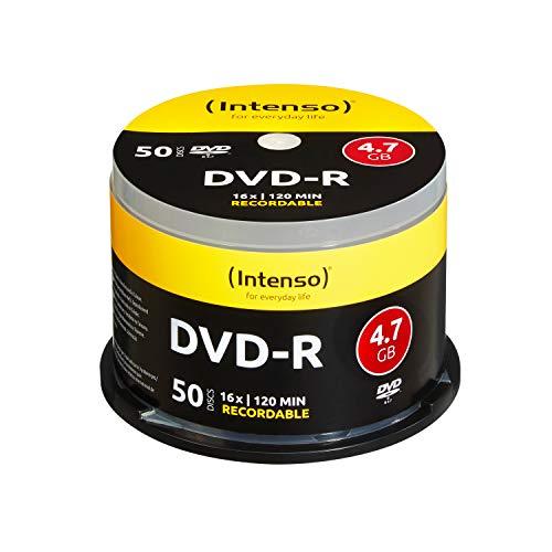 Intenso DVD+R 16x Speed 50er Spindel DVD-Rohlinge