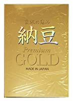 日本の恵み 納豆 GOLD(ゴールド) 330球 MADE IN JAPAN